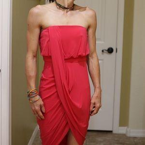 BCBGMAXAZARIA RUNWAY strapless dress